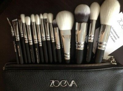 15 Pcs Make up Brush Set Foundation Eye face Brushes + Free Bag (UK Seller)