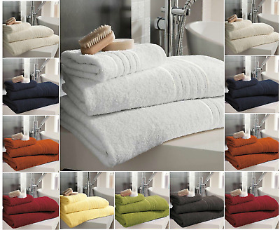 100% Pure Combed Egyptian Luxury Soft Cotton Hand Bath Extra Large Beach Towels