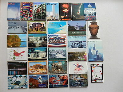 One Selected Souvenir Fridge Magnet from the USA