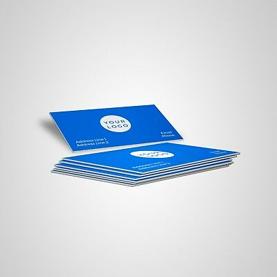 Print 500 Custom Business Cards - Matte Finish - Single OR Double Sided- $16.60