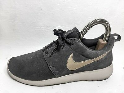 info for 8e194 44faa Nike Roshe Run Athletic Sneakers Running Mens Shoes Size 7 Eur 40 Gray Gold