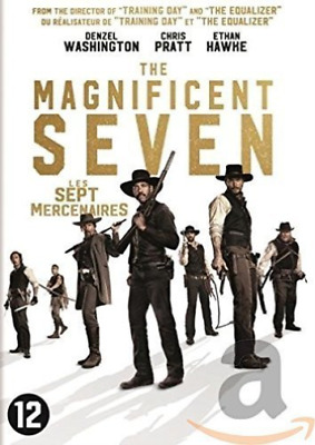 Movie-Magnificent Seven (2016)  Dvd Nuevo
