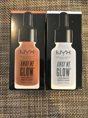 (1) NYX Away We Glow Liquid Booster , YOU CHOOSE