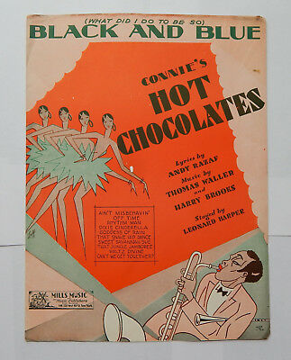 What Did I Do to be so Black & Blue from Connie's Hot Chocolates (1929)