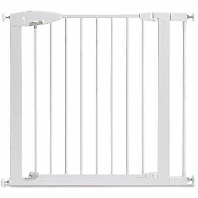 Munchkin Easy Close Metal Baby Gate, White, Model NEW OPEN BOX