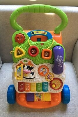 VTech Sit to Stand Learning Walker Toddler Baby Toy Musical interactive Activity