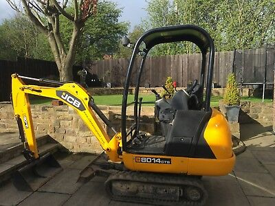Mini digger,  (Digger + Driver for hire) Yorkshire