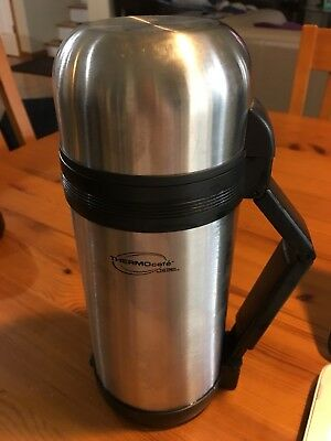 THERMOS THERMOcafe Hot/Cold Stainless Steel, 40 oz