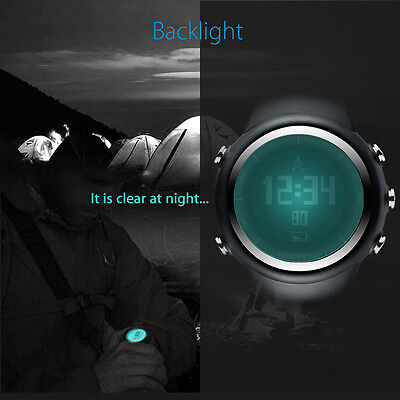 North Edge GPS Mode Smart Wristband Watch Backlight For Hiking Running Outdoor