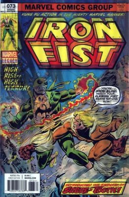 Iron Fist # 73 NM Lenticular Marvel Comics Free Combined Shipping!