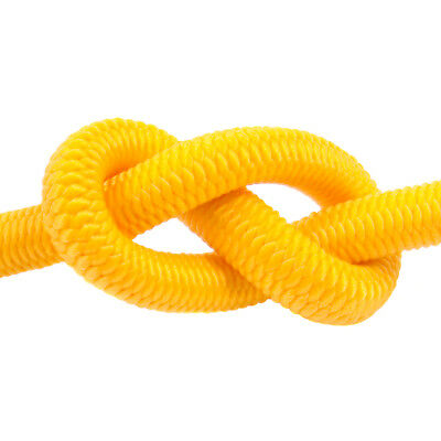 Yellow Elastic Bungee Rope Shock Cord Tie Down Various Thickness / Length BUNGEE