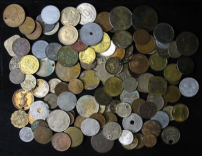 ONE POUND of World Foreign Cull Coins