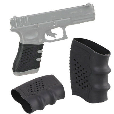 Tactical Rubber Cover Hand Grip Glove Anti Slip Sleeve For Pistol Handle