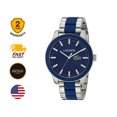 Lacoste 12.12 Mens Analog business Multicolored Band 2010891