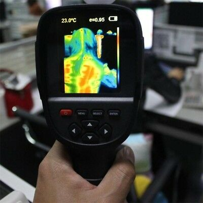 Infrared Temperature Heat IR Digital Thermal Imager Detector Camera with storage