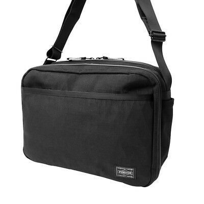 8bf3bf459a NEW YOSHIDA PORTER HYBRID WAIST BAG 737-17805 Black From Japan ...