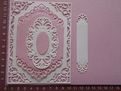 Die cuts - Spellbinders Mats, 5 pieces, Card Toppers, Embellishments - Lot 2