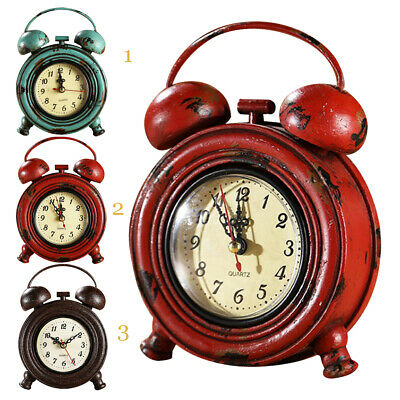 Mute Silent Sunburst Decorative Round Metal Dial Wall Clock Home Decoration