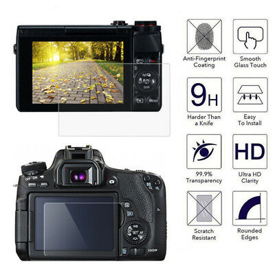 Tempered Glass Camera LCD Screen HD Protector Cover for Canon EOS 200D / Kiss 9