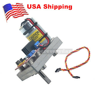 High Torque Servo DC12-24V 380kg.cm Steel Gear for Robot Mechanical Arm #US