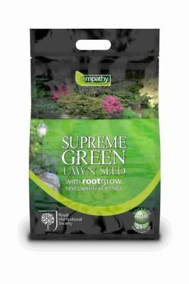 Empathy Supreme Green Garden Lawnseed Lawn Seed & Rootgrow - 1kg