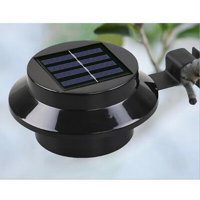Home Garden LED Wall Lights Solar Powered Security Outside Waterproof Lamp