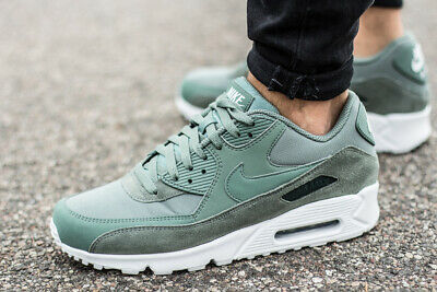 competitive price 4c139 7b0cf NIKE AIR MAX 90 ESSENTIAL chaussures hommes sport sneaker vert AJ1285-300