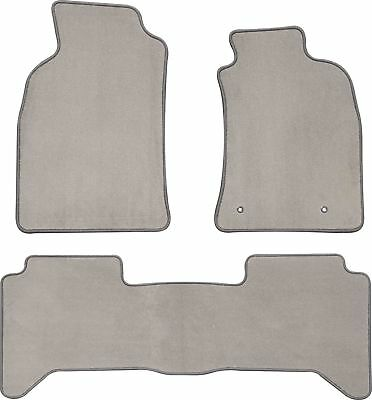 CARPET CAR FLOOR MATS to suit TOYOTA HILUX 7TH GEN 2005 to 2011 FRONT & REAR NEW