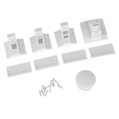 Baby Child Pet Proof Home Invisible Magnetic Lock Kit For Cupboard Door Drawers
