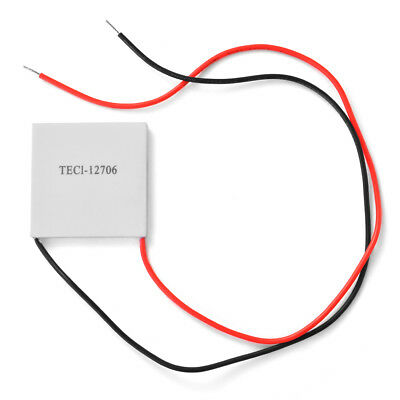 1x/10x 12V 60W TEC1-12706 Heatsink Thermoelectric Cooler Peltier Cooling Plate