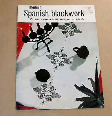Coats Modern Spanish Blackwork Pattern Book