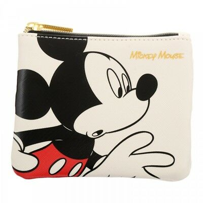 Disney Store Japan Tissue Pouch Mickey White Charming From Japan F/S