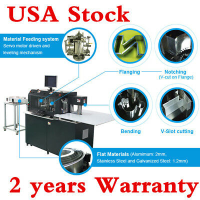 Ving Multifunction Automatic CNC Sign Channel Letter Bending Machine USA Stock!