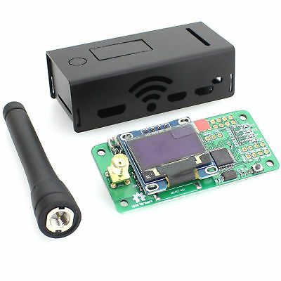 Antenna +Case +OLED + MMDVM Hotspot Support P25 DMR YSF for Raspberry pi Zero