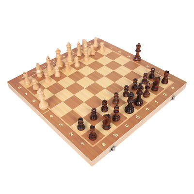 4 Size Magnetic Folding Chessboard Chess Board Set Portable Wooden Game