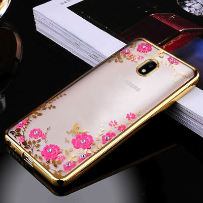 Luxury Glitter Soft Silicone Case for Samsung Galaxy A6 J3 J5 J7 2017 Back Cover