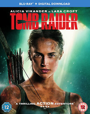 Tomb Raider (Blu-ray) Alicia Vikander, Walton Goggins, Daniel Wu, Dominic West