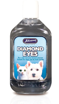 Johnsons Diamond Eyes 250Ml - Tear Stain Remover Prevention - Facial Cleansers