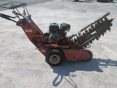 2002 Ditch Witch 1030H Walk behind Trencher