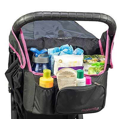 Universal Stroller  Organizer Insulated Cup Holder Maternity.com