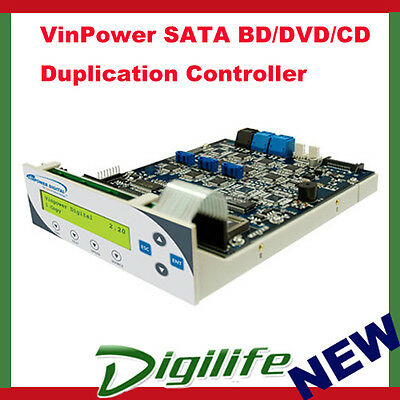 VinPower BD/DVD/CD SATA Duplication Controller 1 to 7 for Tower Duplicator