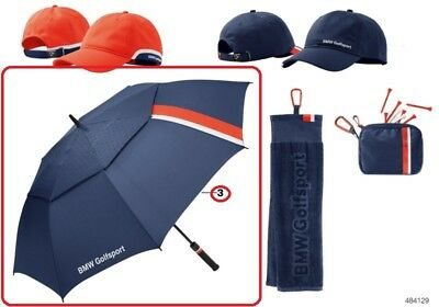 Genuine BMW Golfsport Collection Navy Golf Umbrella PN: 80232446379 UK NEW
