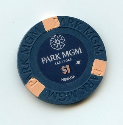 1.00 Chip from the Park MGM Casino Las Vegas Nevada