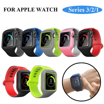 Apple Watch Series 3/2/1 Case 42 mm i-Blason Watch Band Protective Strap Cover