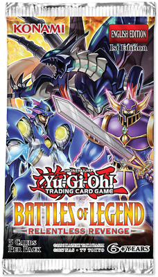 YuGiOh! BATTLES OF LEGEND: RELENTLESS REVENGE *BLRR* - SECRET & ULTRA RARE CARDS