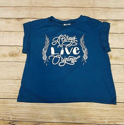 Nwt Rue 21 Graphic Crop Top T Shirt Extra Small Xs Always Live