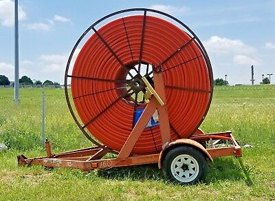 8,000 feet- 1*1/4 SDR13.5- HDPE-Smooth Wall Conduit Poly-Pipe (New W/ Trailer)