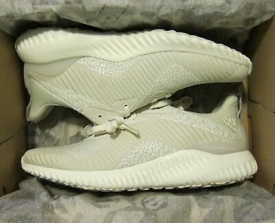 add54f6295e38 NEW Adidas AlphaBounce HPC AMS M Size 9.5 DA9560 Clear Brown White Chalk  Shoes