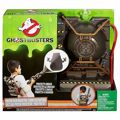 Ghost-busters Electronic Proton Pack Projector w/additional Ecto Mini