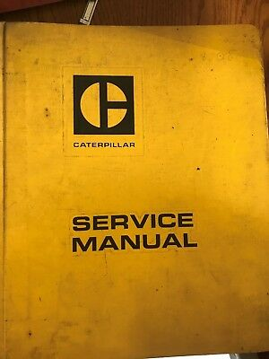 Caterpillar Service Manual 955 Track-Type Loaders